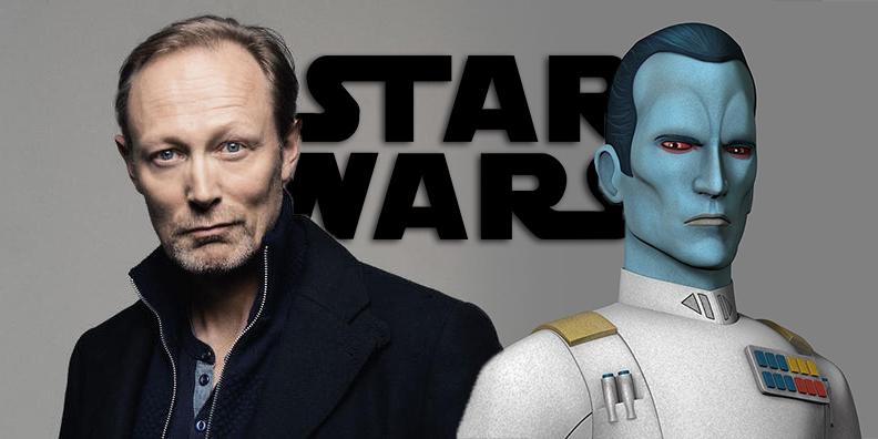 Lars Mikkelsen - Grand Admiral Thrawn