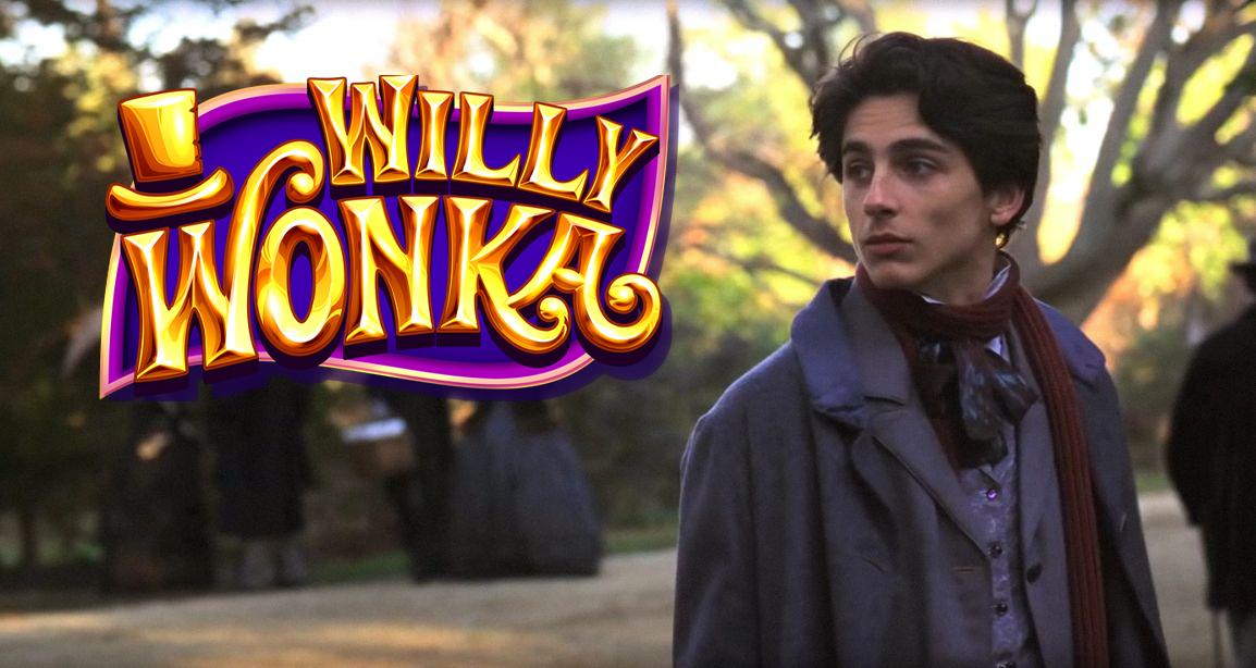 Timothée Chalamet - Willy Wonka